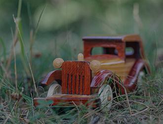 Lakierowanie drobnych przedmiotów drewnianych